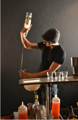 hire a flair bartender in Vancouver
